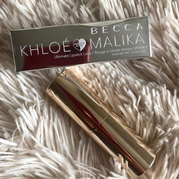 BECCA Other - BECCA x Khloe and Malika Collection Lipstick